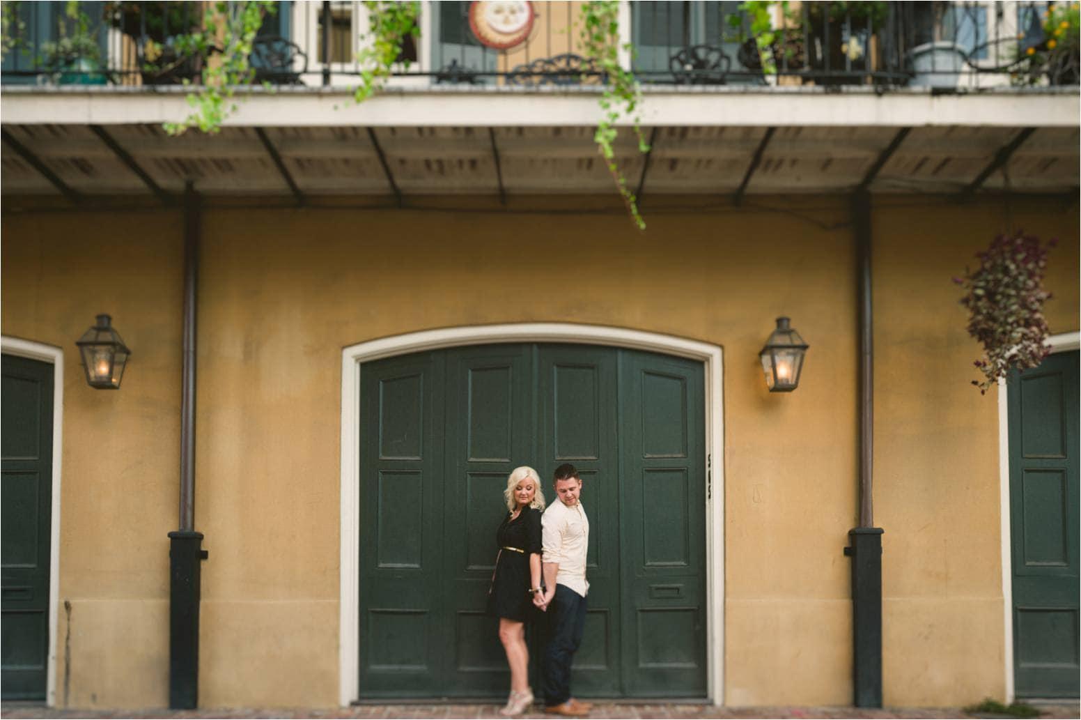 New Orleans Wedding Photographers - French Quarter Engagement 17